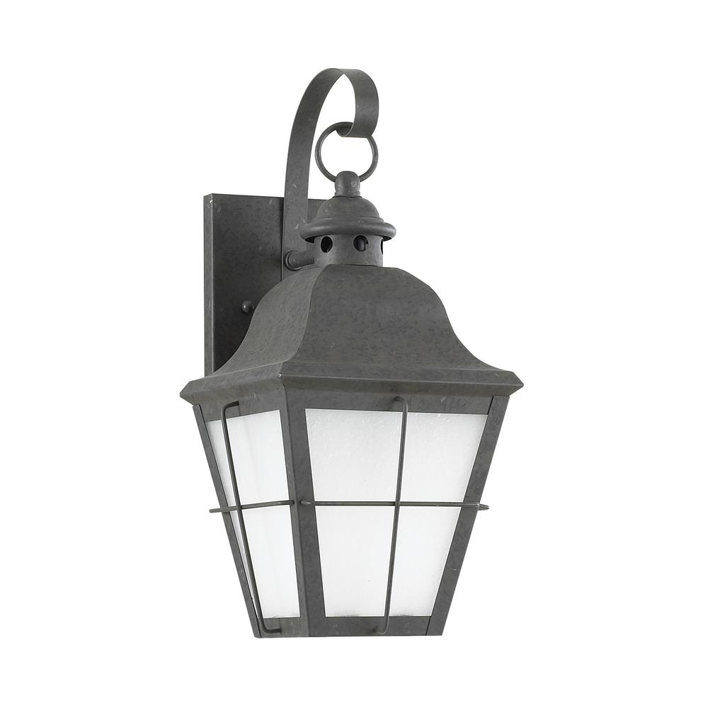 Chatham 1-Light Oxidized Bronze Outdoor Wall Mount Lantern