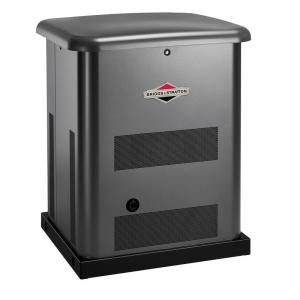 Click here to buy Briggs & Stratton 10,000-Watt Automatic Air Cooled Standby Generator with 100 Amp Transfer Switch by Briggs & Stratton.