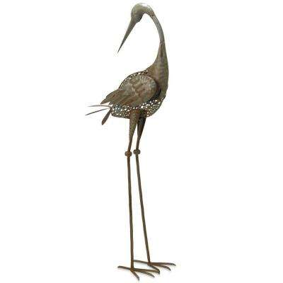 35 in. Garden Accents Crane Decoration