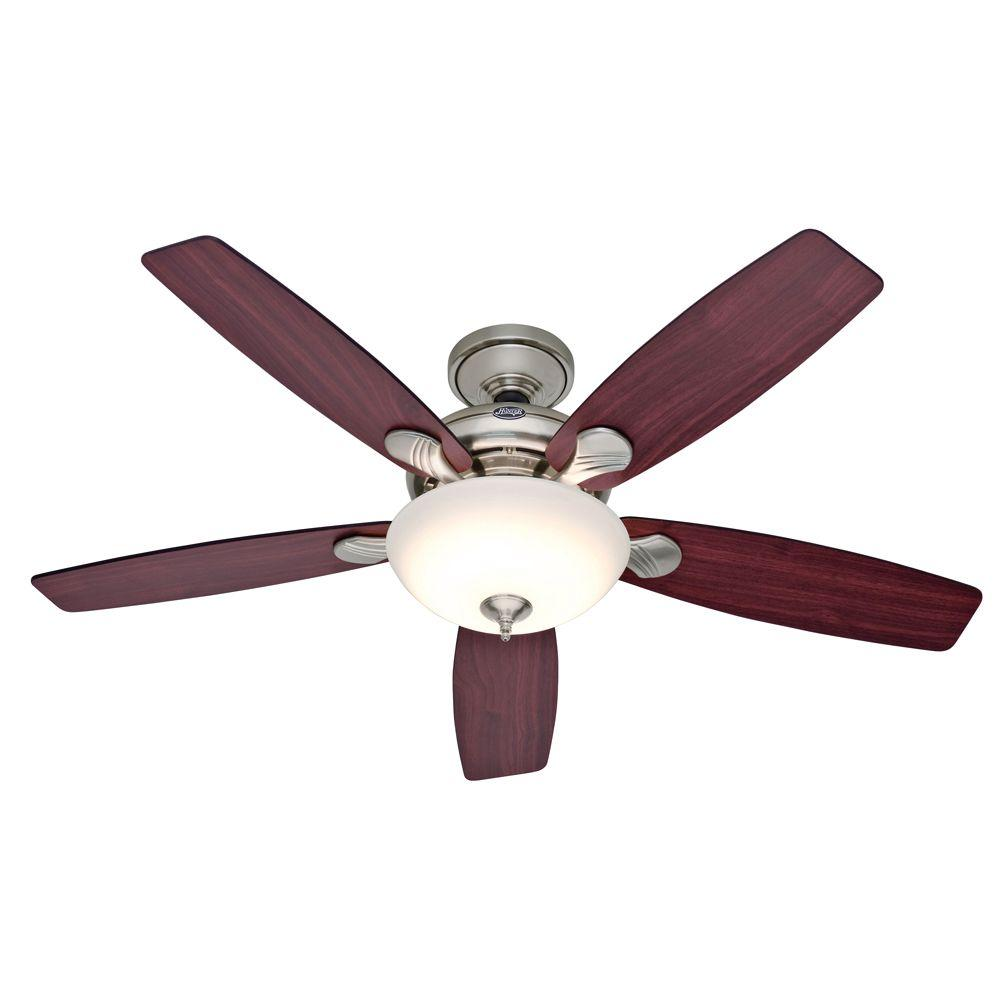 Hunter Eco-Air 52 in. Brushed Nickel Ceiling Fan-DISCONTINUED