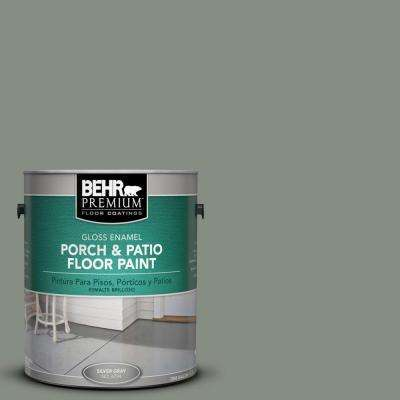 1 gal. #PFC-43 Peaceful Glade Gloss Interior/Exterior Porch and Patio Floor Paint