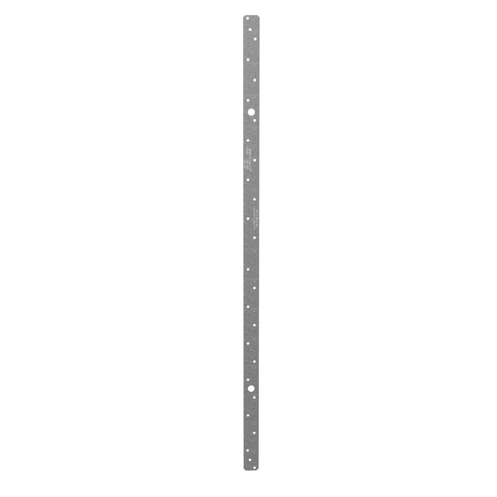 Simpson Strong-Tie LSTA 1-1/4 in. x 36 in. 18-Gauge Galvanized Strap Tie