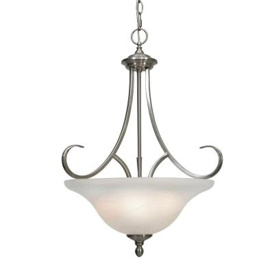Lancaster Collection 3-Light Pewter Pendant