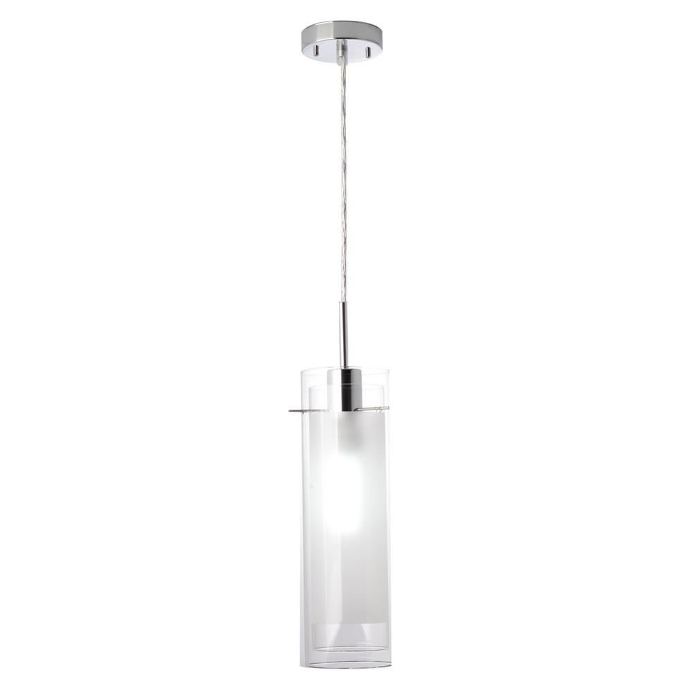 Globe Electric Sydney 1-Light Polished Chrome Clear Glass