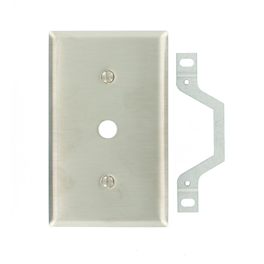 Stainless Steel - Phone & Data Wall Plates - Wall Plates - The Home ...