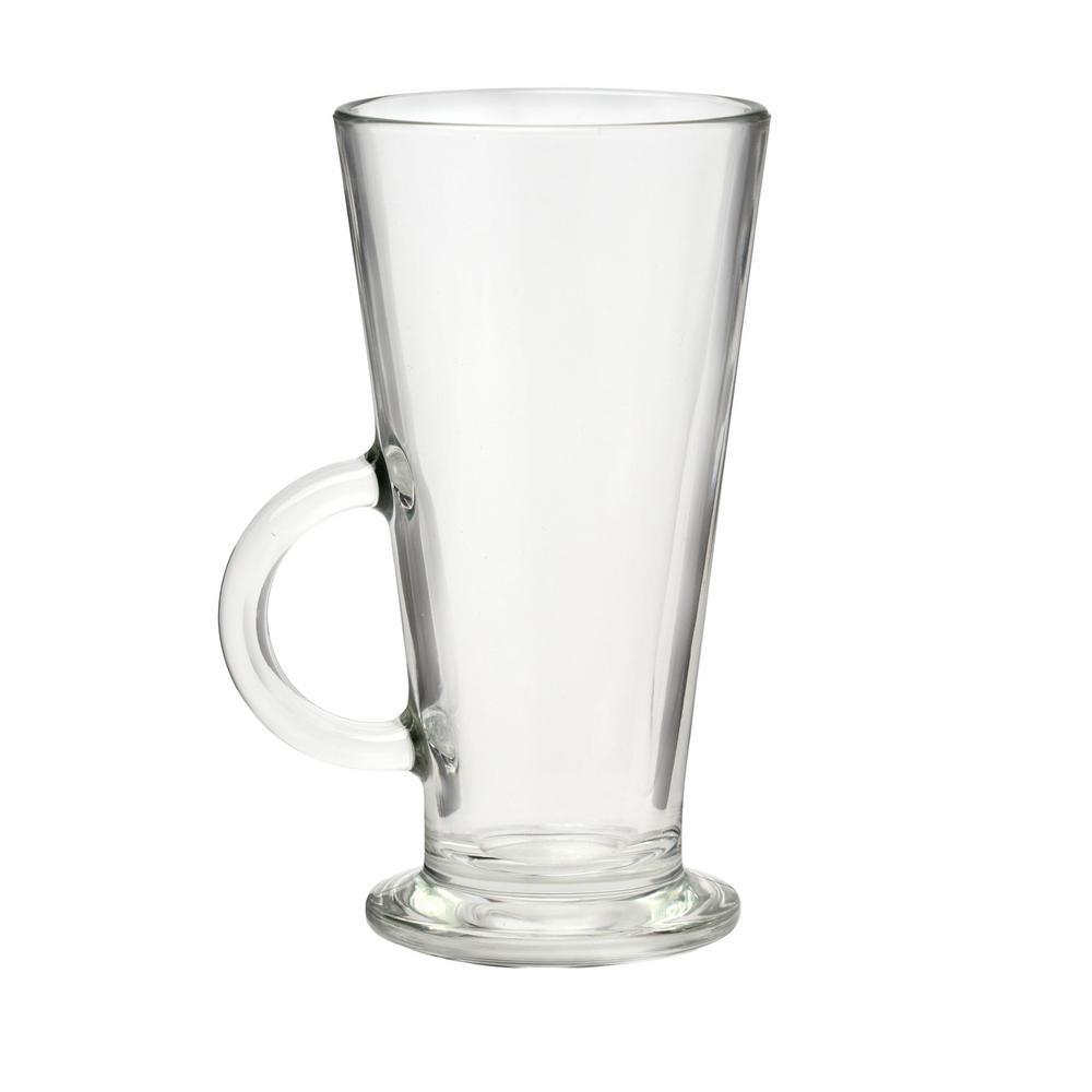 Conic 8 oz. Clear Glass Espresso Mug (Set of 4)