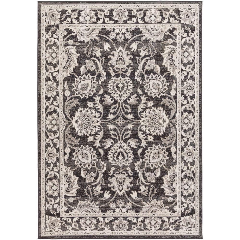 7 X 11 Area Rug: Artistic Weavers Sandoc Black 7 Ft. 11 In. X 11 Ft. Indoor