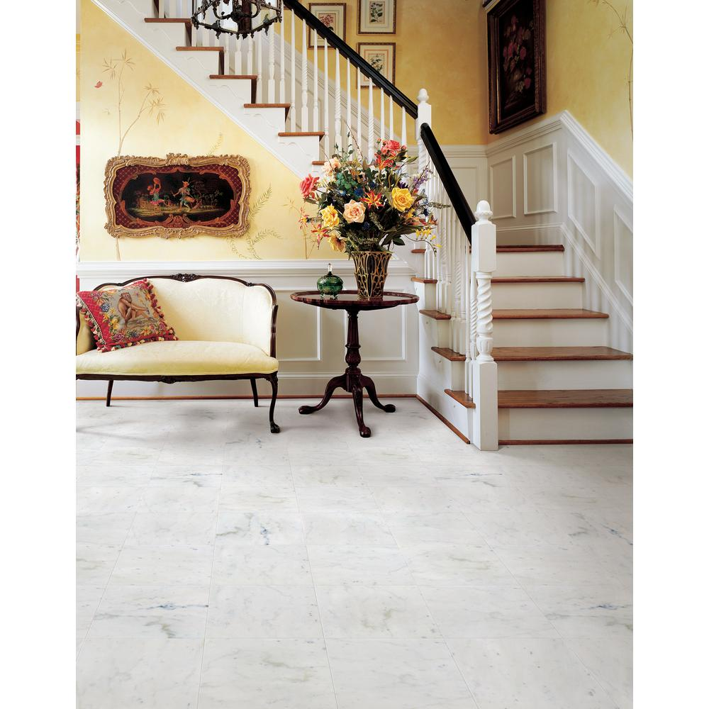 Msi Greecian White 18 In X Honed Marble Floor And Wall