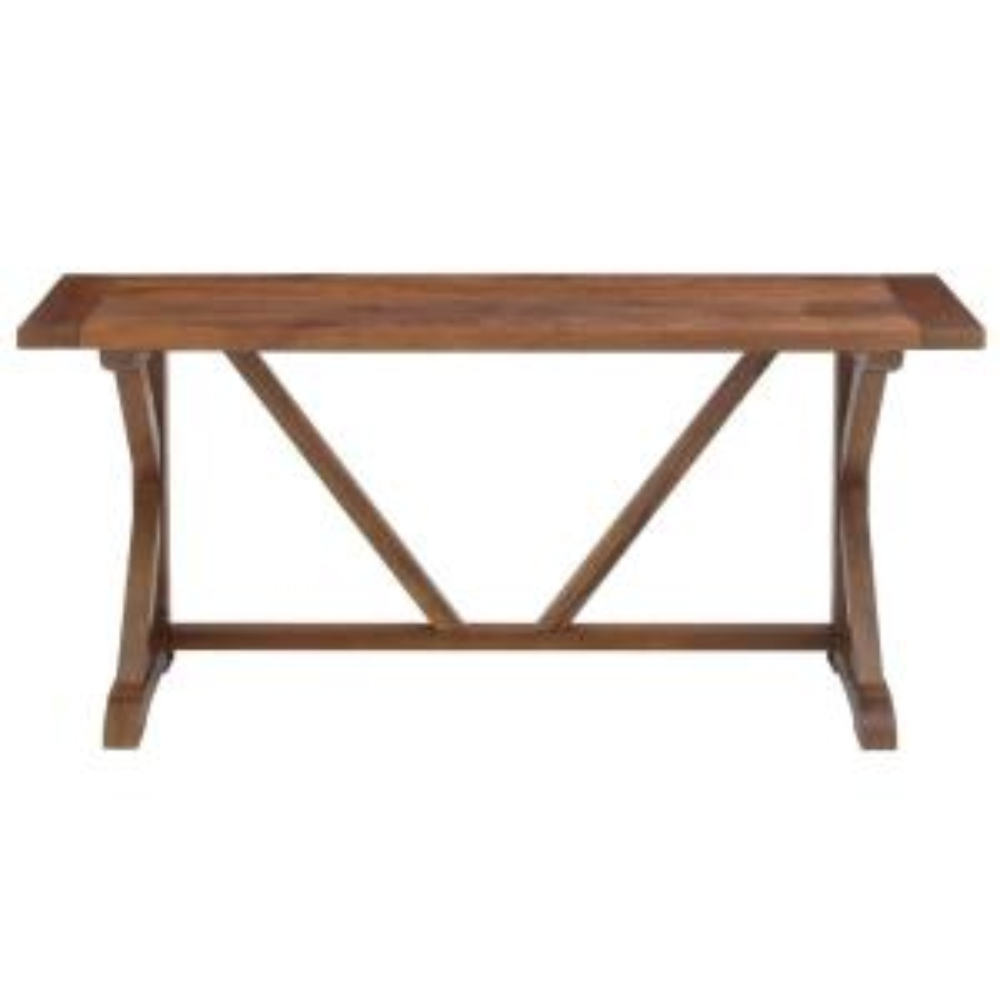 Cane Bark Console Table