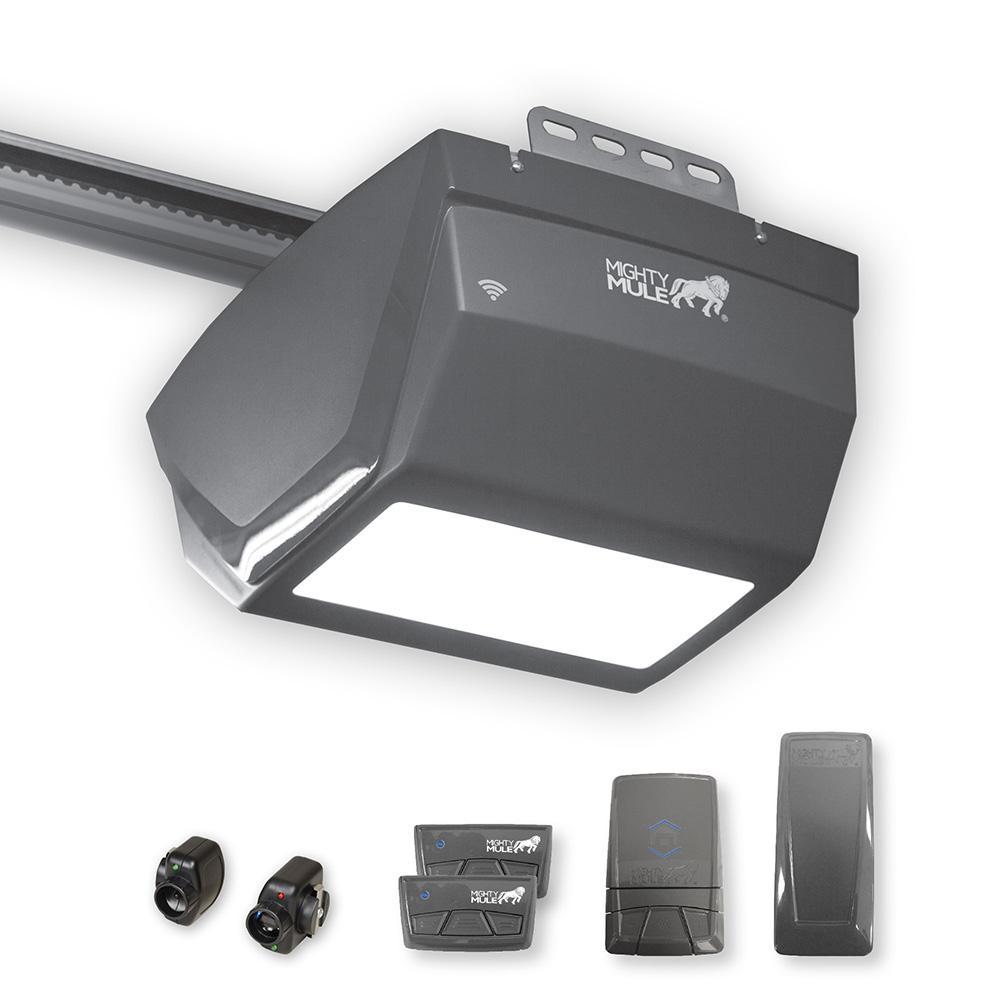 Mighty Mule 3 4 Hp Dc Smartphone Compatible Garage Door
