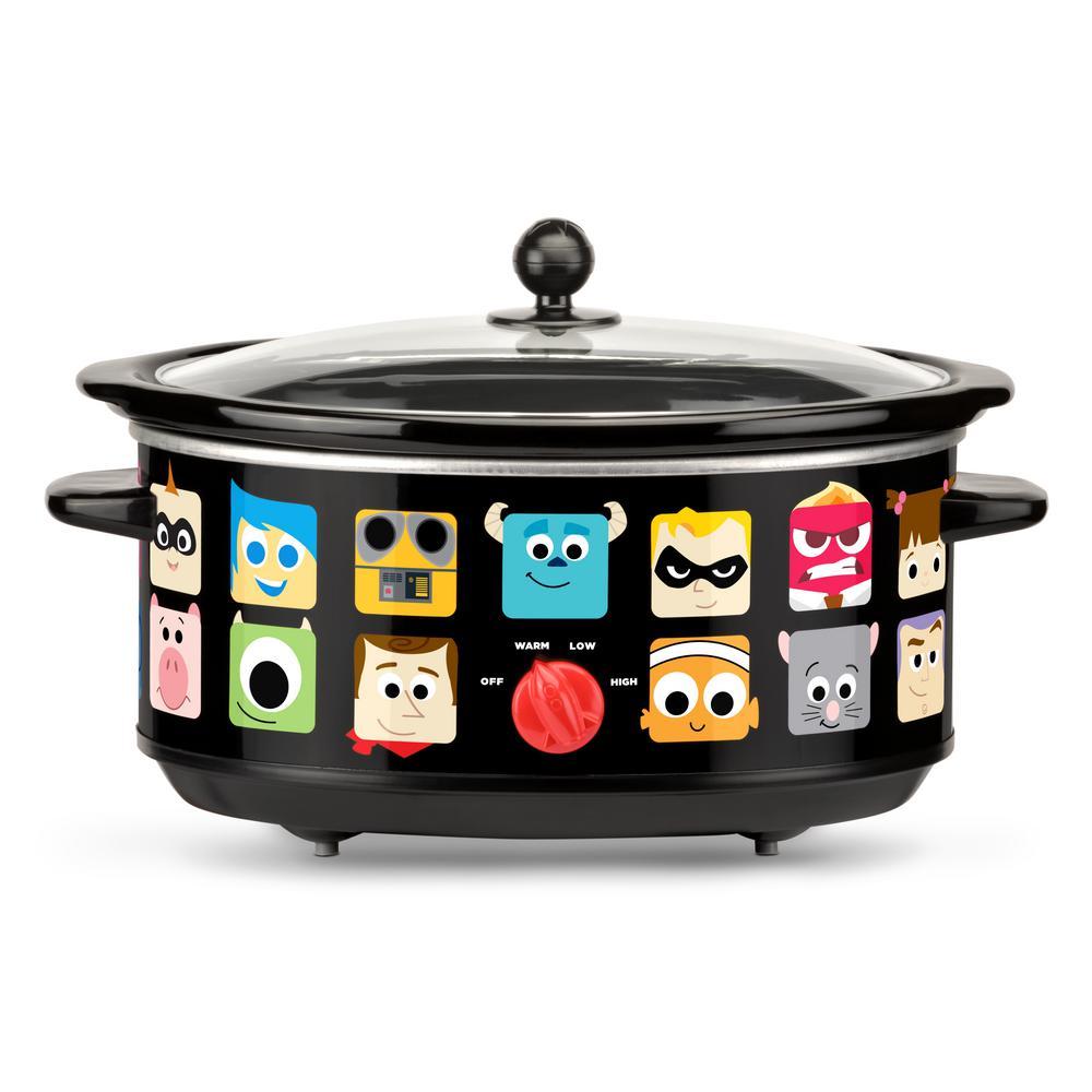 Click here to buy Disney Pixar 7 Qt. Slow Cooker by Disney.