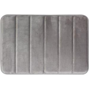 Tranquility Light Gray 20 in. x 30 in. Bath Mat
