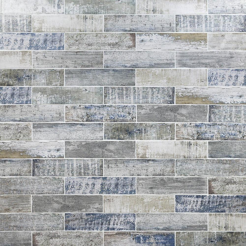 Ivy Hill Tile Strait Wood 3 In X 12 8mm Polished Ceramic Subway Wall 22 Piece 5 38 Sq Ft Box