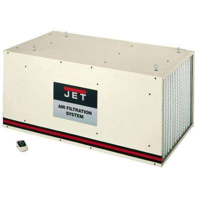 800/1200/1700 CFM Air Filtration System with Remote and Electrostatic Pre-Filter, 3-Speed, 115-Volt, AFS-2000