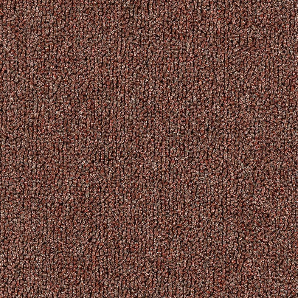 Carpet Sample - Top Rail 26 - Color Yam Loop 8 in. x 8 in.