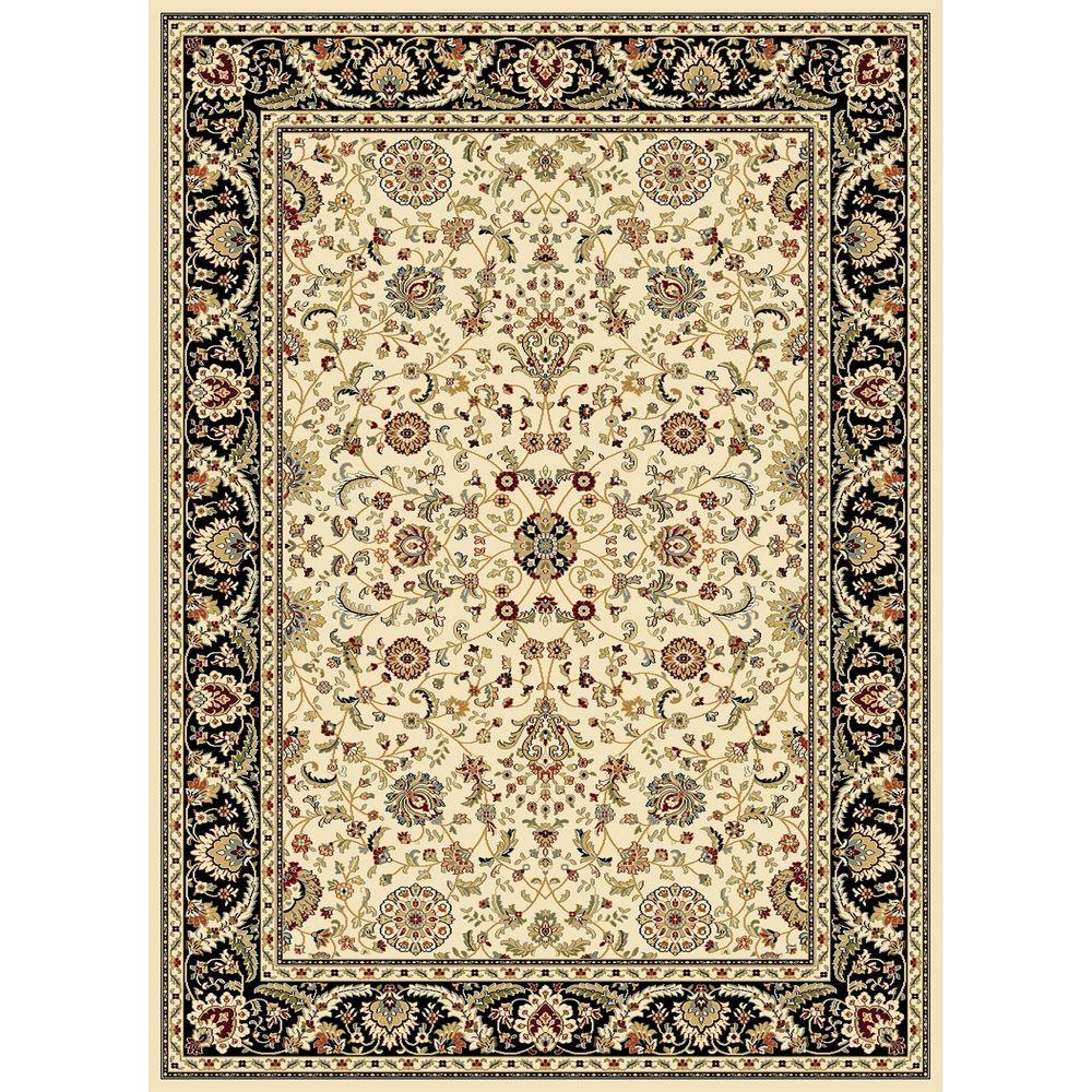 Williams Collection Istanbul Ivory 7 ft. 10 in. x 10 ft.