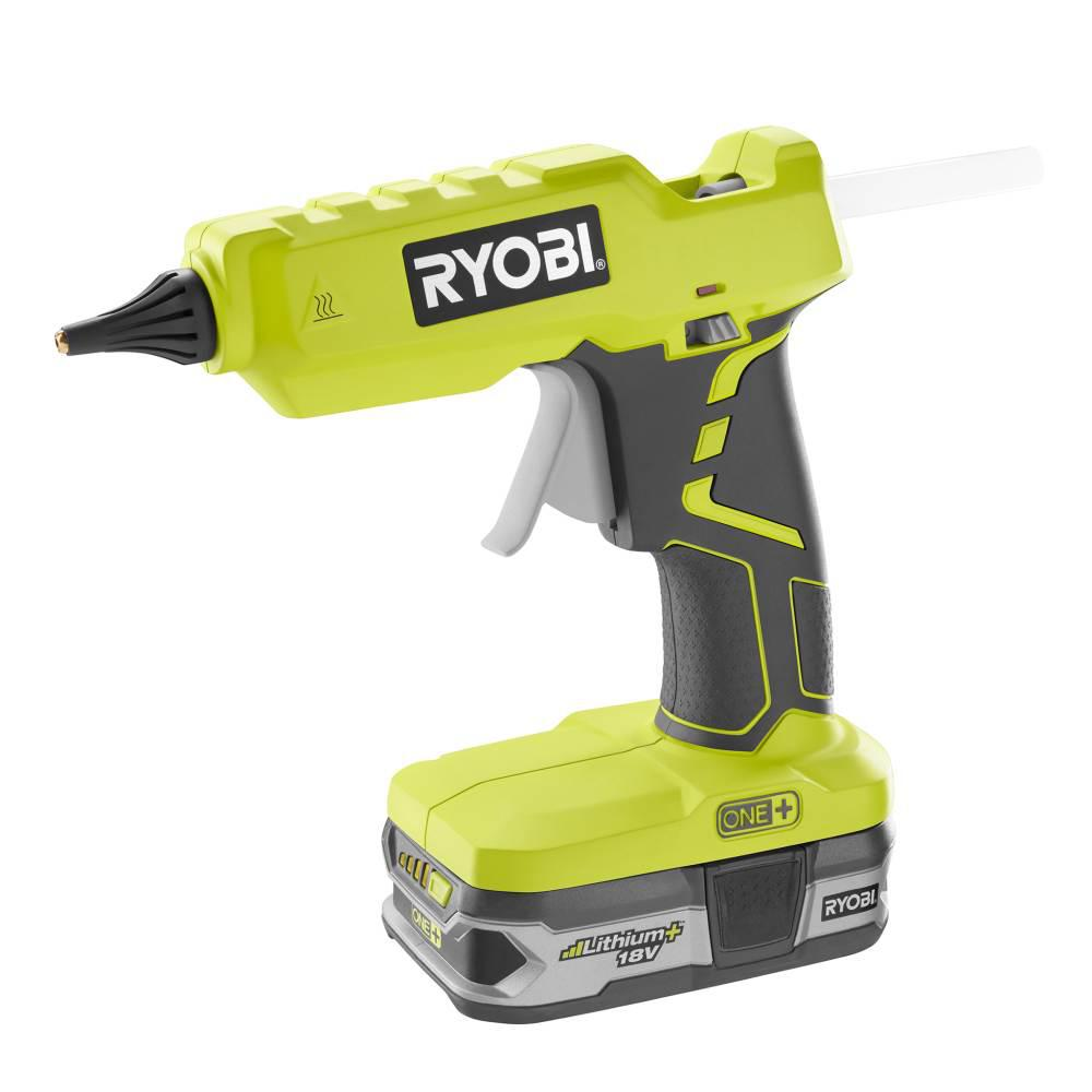 Ryobi 18 Volt ONE Cordless Full Size Glue Gun Bare Hand Tools Sticks Tool-Only