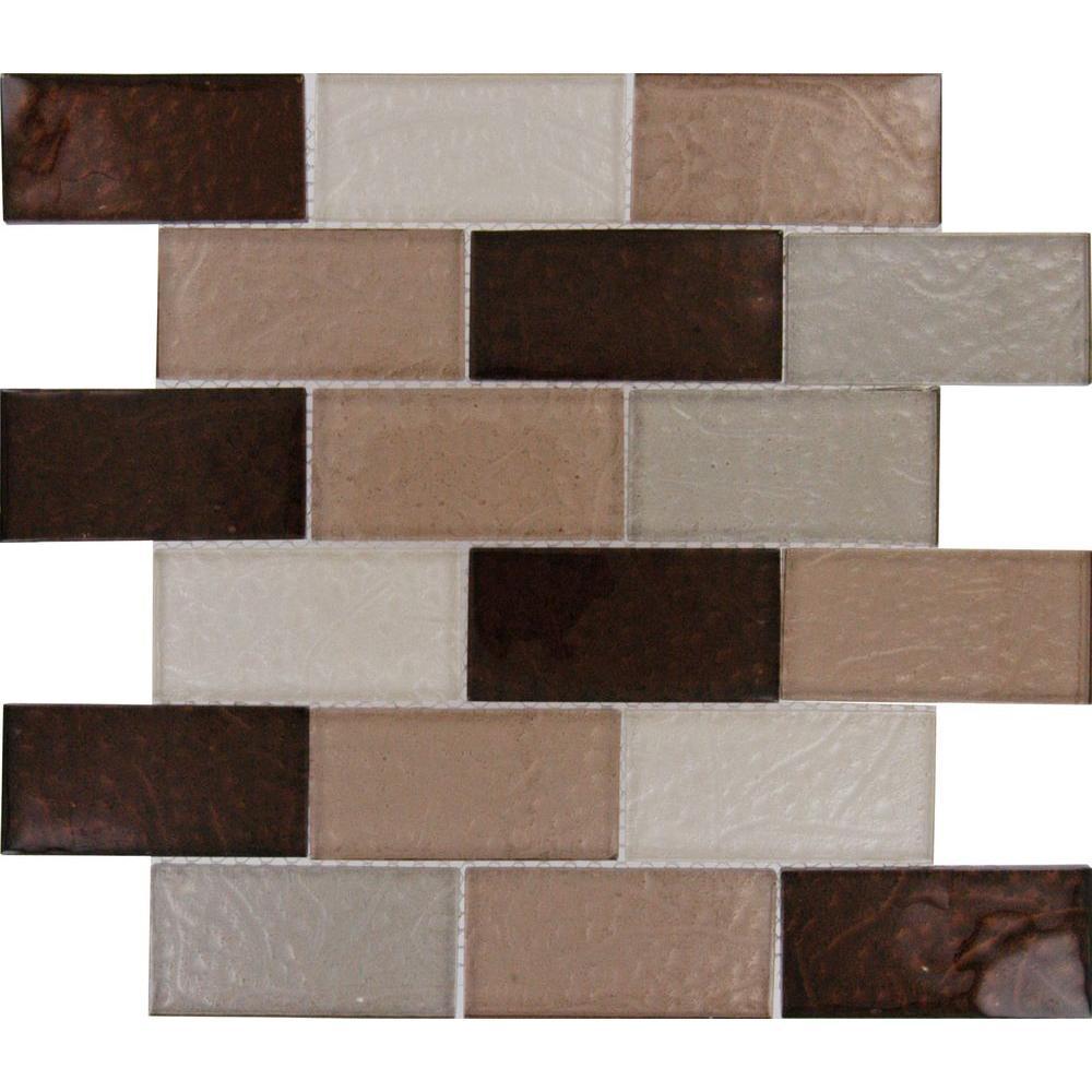 Cool 12X12 Ceiling Tiles Big 12X12 Cork Floor Tiles Solid 18 Inch Ceramic Tile 1X1 Floor Tile Youthful 20 X 20 Floor Tiles Black2X4 Subway Tile Backsplash MSI Ayres Blend Subway 12 In. X 12 In. X 8 Mm Glass Mesh Mounted ..
