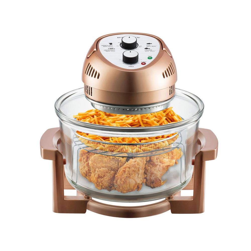 16 Qt. Convention Countertop Oil-less Oven in Copper