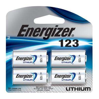 Photo Lithium 123 (4-Pack)