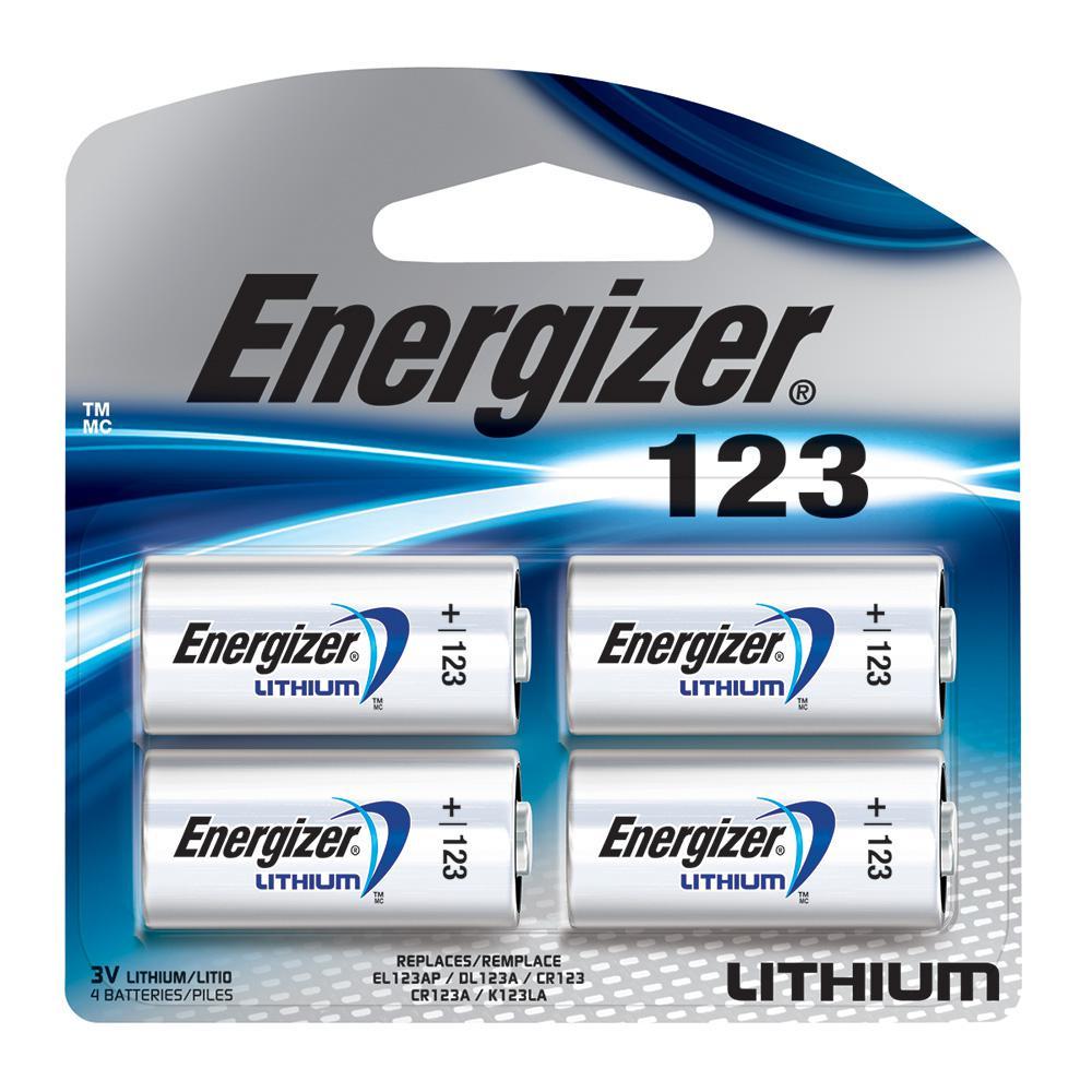 Photo Lithium 123 (4-Pack)