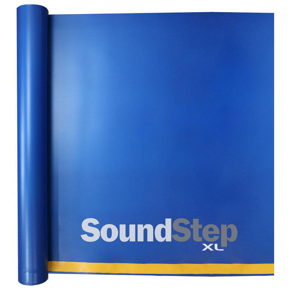 SOUNDSTEP SOUND STEP 100 sq. ft. 4 ft. x 25 ft. x 0.08 in. Premium Foam Underlayment for Laminate, Engineered and Glue-Down Floors