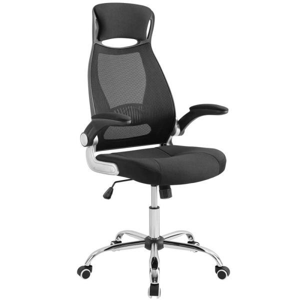 MODWAY Expedite Black Highback Office Chair EEI-3039-BLK