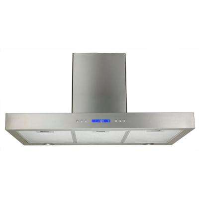 30 in. Convertible Wall Mounted Decorative Chimney Range Hood in Stainless Steel