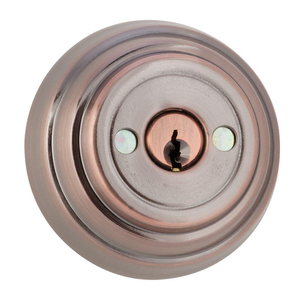 Toledo Fine Locks Double Cylinder Bronze Gate Deadbolt