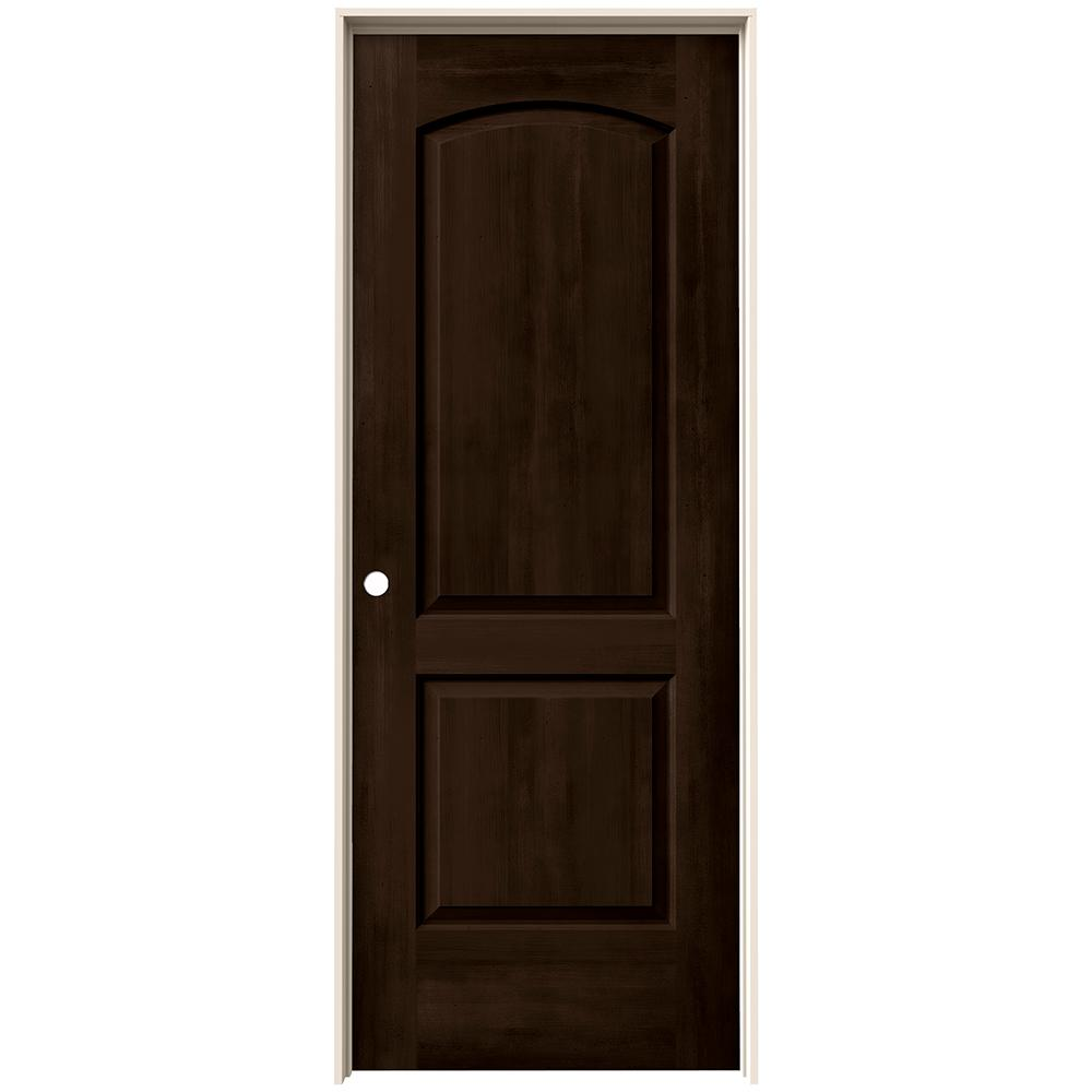 Prehung Interior Doors : Jeld wen in continental espresso stain right