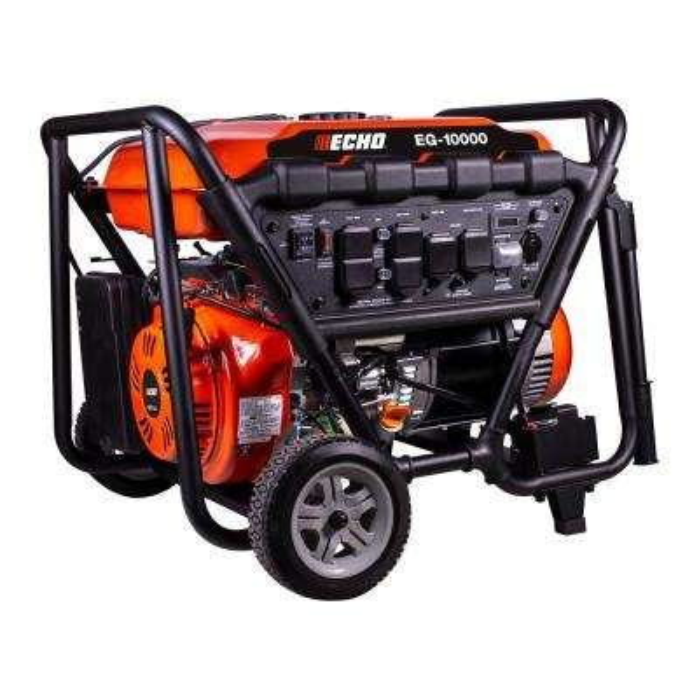 10000-Watt Gas Powered Portable Generator