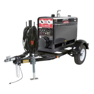 Lincoln Electric SAE-300 HE Kubota EPA Tier 4-Engine Driven Stick Welder/Generator Ready-Pak by