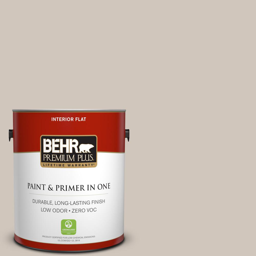 1-gal. #N210-2 Cappuccino Froth Flat Interior Paint
