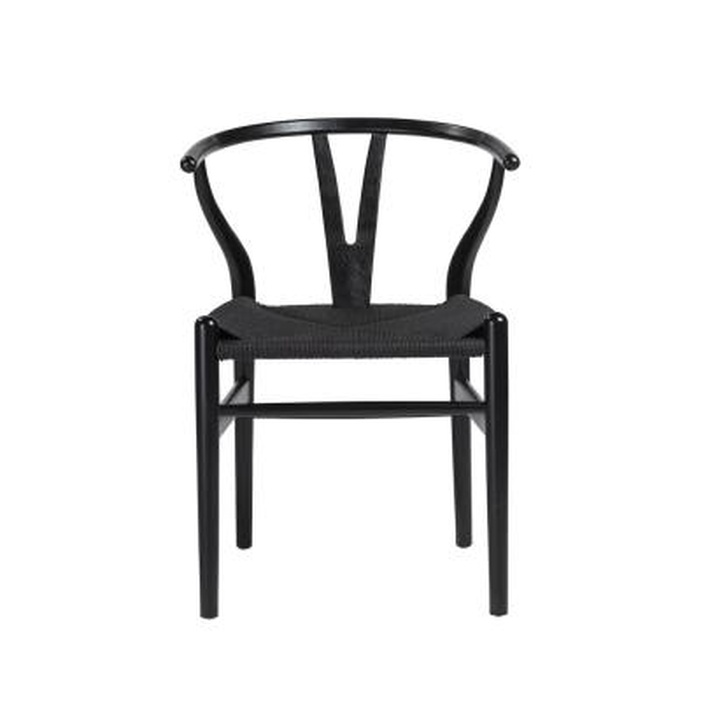 Evelina Black Side Chair (Set of 2)