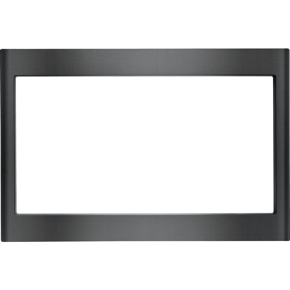 Frigidaire 27 In Microwave Trim Kit Black Stainless Steel