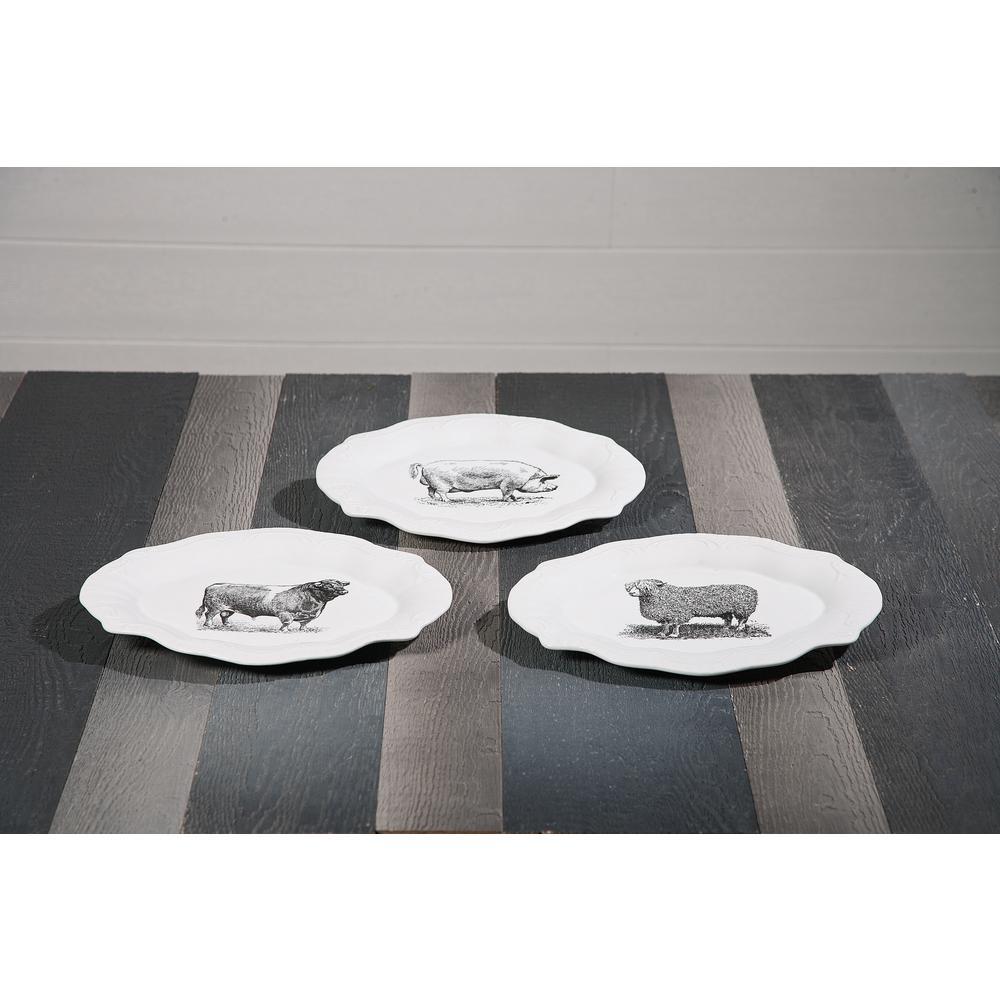 Maye Ceramic Plates (Set of 3)