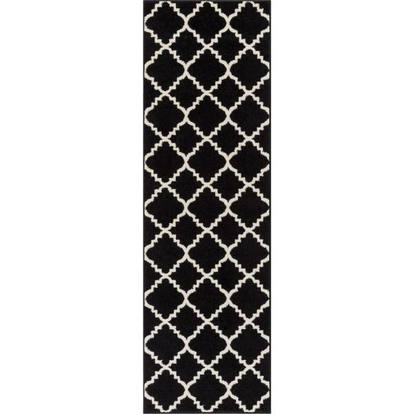 Lattice Moroccan Trellis Black
