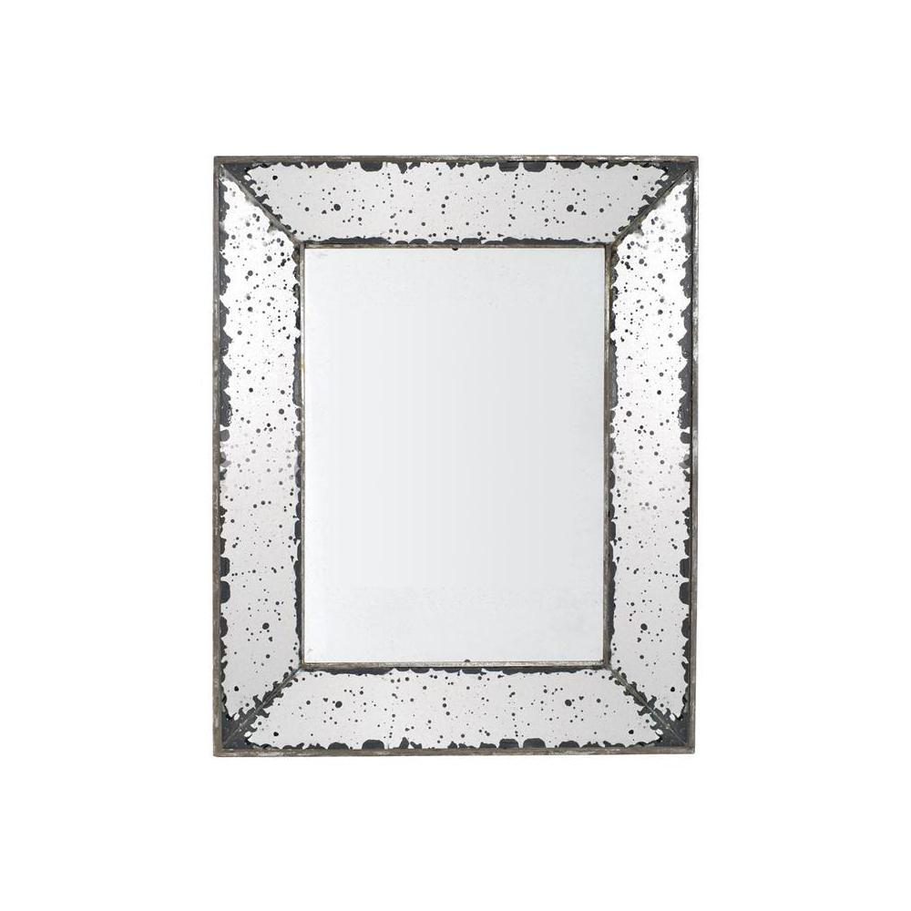 ABHome A & B Home Roberto 24 in. x 16.5 in. Framed Wall Mirror