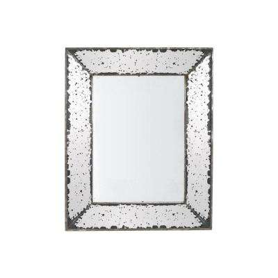 Roberto 24 in. x 16.5 in. Framed Wall Mirror