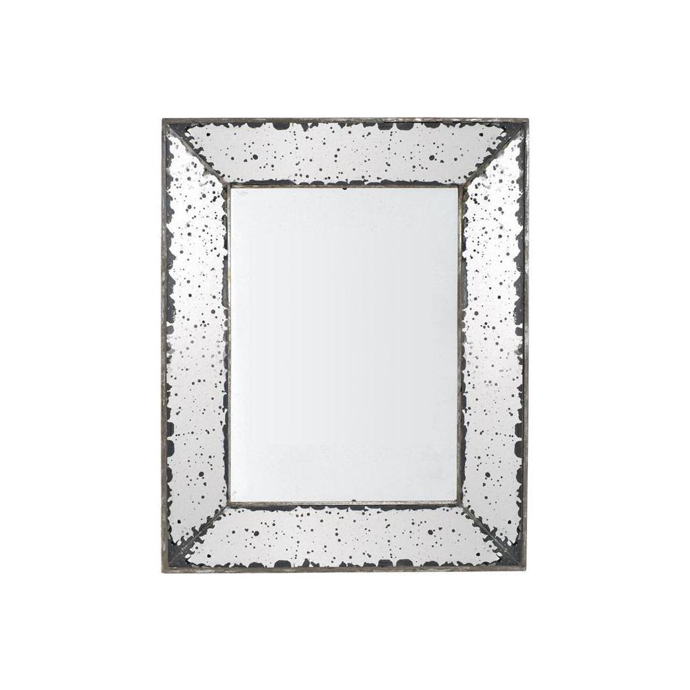 Roberto 20.5 in. x 12.5 in. Framed Wall Mirror