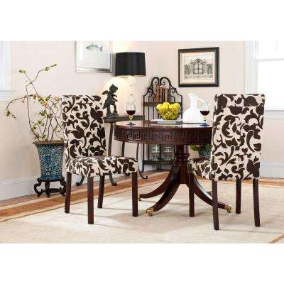 Parsons Floral Print Dining Chair (Set of 2)