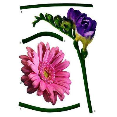 19 in. x 27 in. Fiore Wall Decal