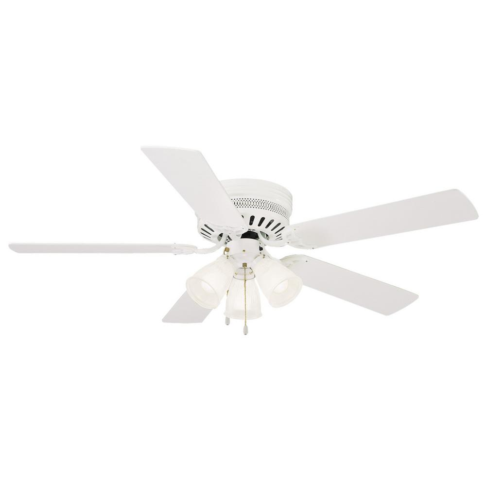 Monte Carlo Traverse 52 In White Ceiling Fan 5TV52WHD