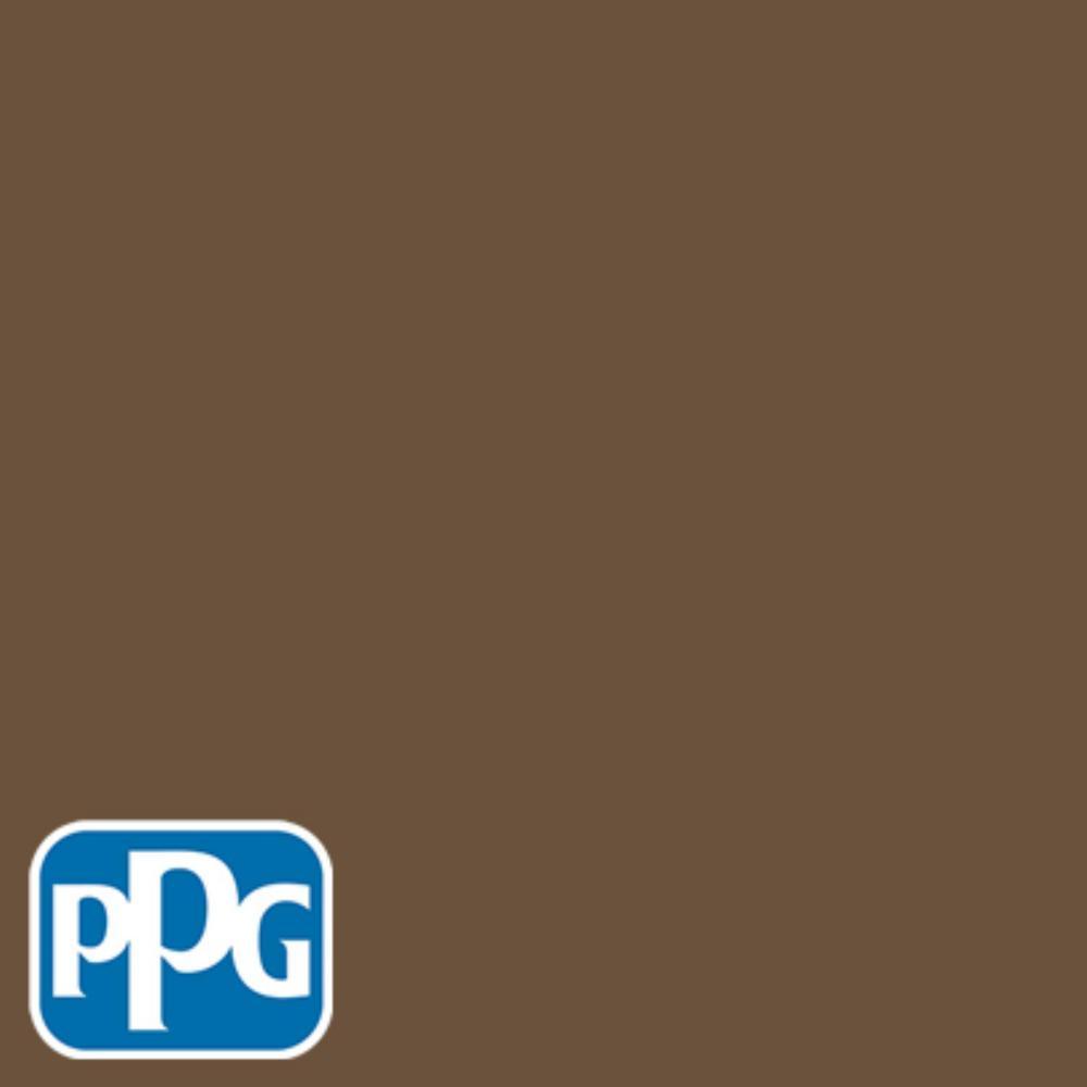 Hdppgo52d Rich Mocha Eggshell Interior Exterior Paint Sample