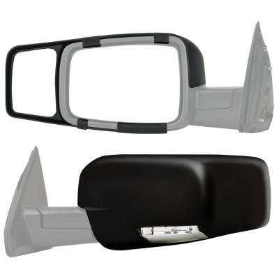 Fit System 80910 Chevrolet//GMC Full Size Truck Clip-On Towing Mirror Pair
