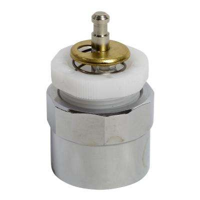 Actuating Unit for Metering Faucet, Polished Chrome