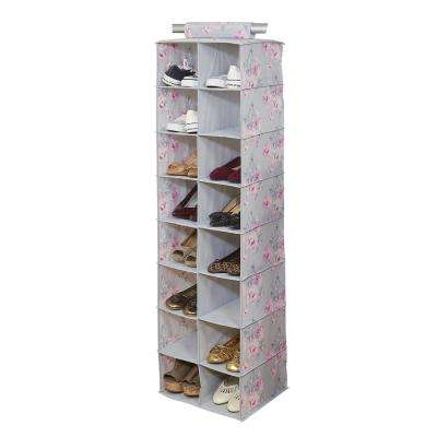 16-Pocket Non-Woven Shoe Organizer in Beatrice