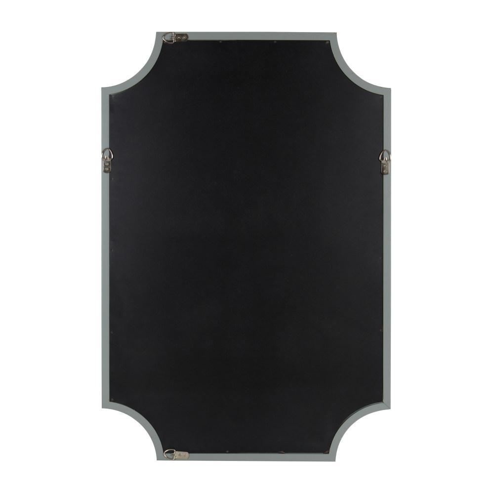 Hogan Scalloped Gray Mirror