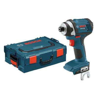 18 Volt Lithium-Ion Cordless 1/4 in. Variable Speed Impact Driver Kit with L-Boxx Hard Case and Insert Tray (Tool-Only)