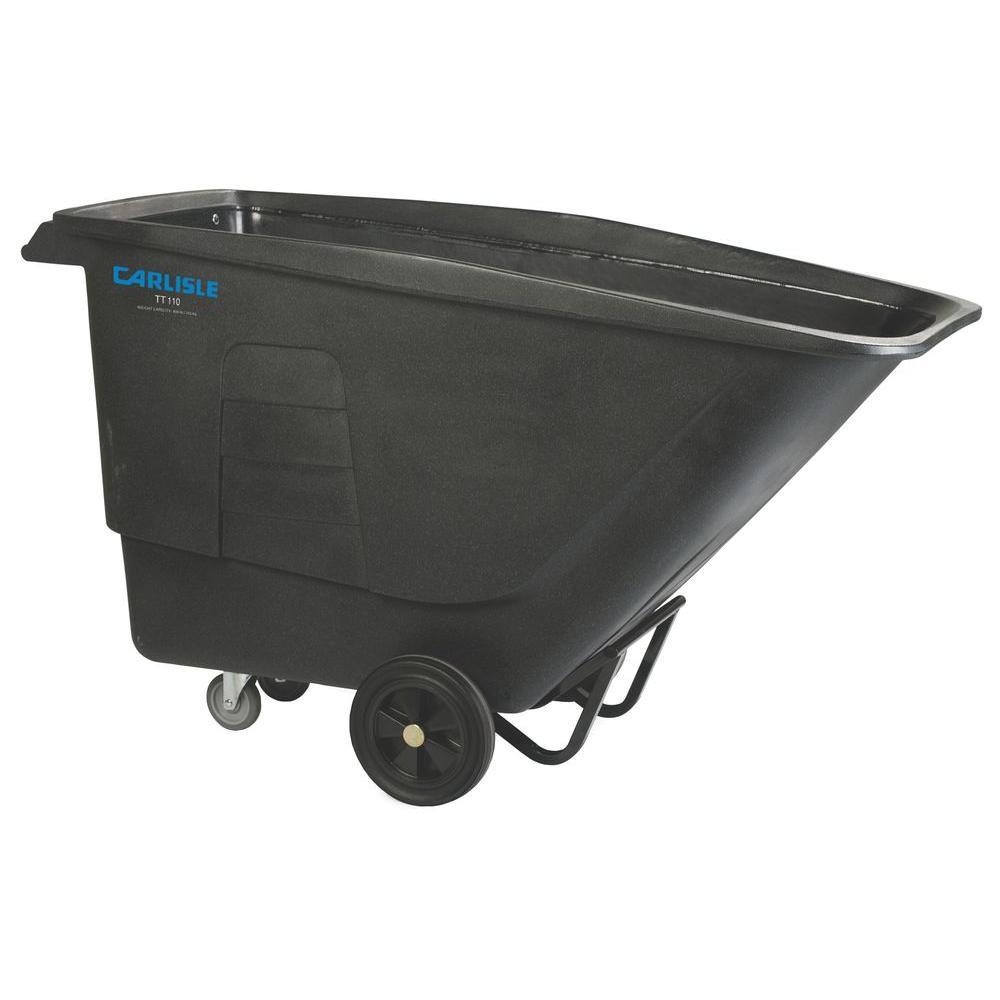Carlisle 1200 lb. Capacity Standard Duty 1 cu. yds. Tilt Truck